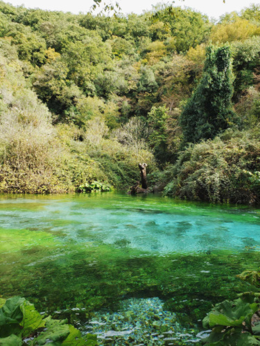 Blue Eye Spring Albania Turquoise Waters