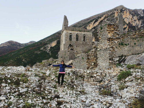 Kelcyra Castle Best day trips from gjirokaster albania