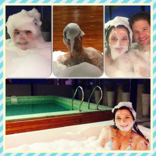 Nando Hotel Apartments Hot Tub with Bubbles