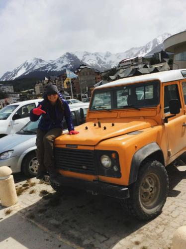 Patagonia Land Rover Defender
