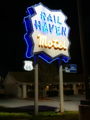 Rail Haven Sign Sprinfield MO